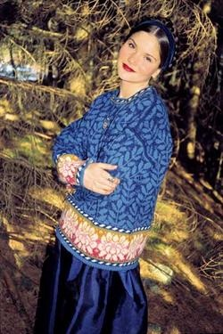Solveig Hisdal - Blue Sweater