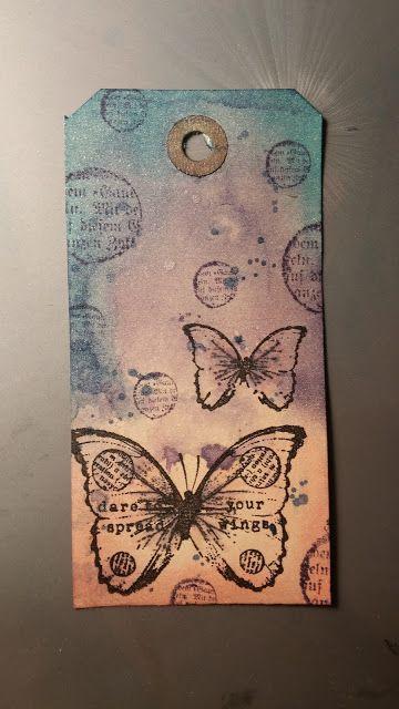 Pysselnöje: Tag med fjärilar