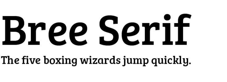 Bree_salb serif font_Excellent Modern Font Series: 8 Modern Serif Fonts - Tim Brown