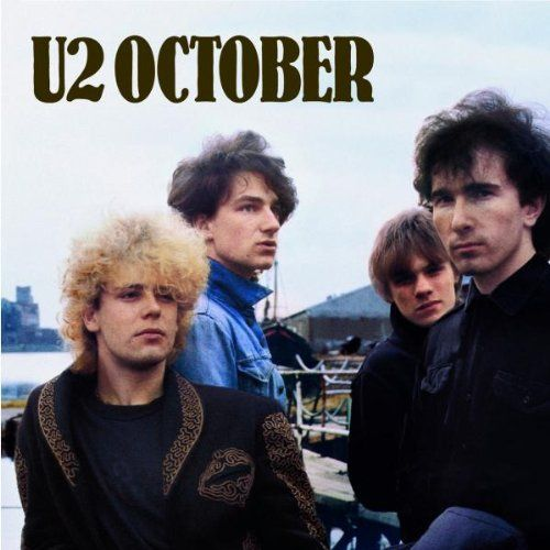 "U2's second album, October, was released in October 1981. The album featured spiritual themes, inspired by the band members relationship with a Christian group called ""The Shalom Fellowship""."