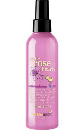 Entspannender Duftspaß mit Langzeitwirkung: das treaclemoon Körperspray pretty rose hearts verzaubert mit seinem blumig-zarten Sommerduft jeden Tag mit...