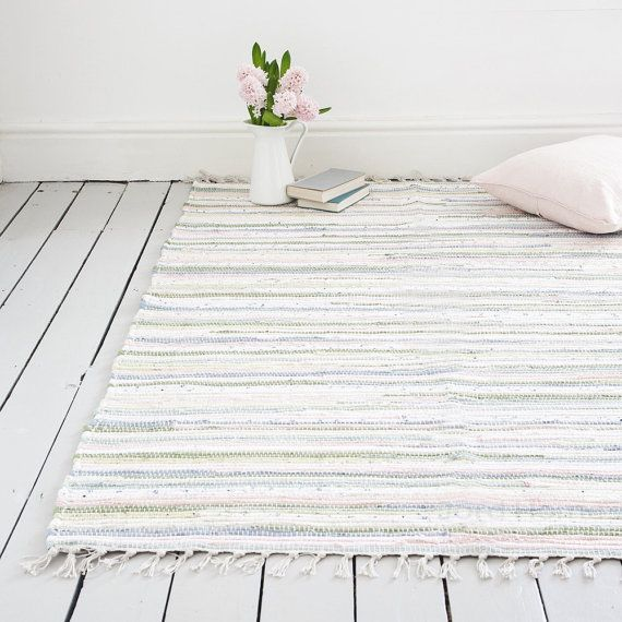 Pastel rug, creating laid back Scandi style in your home. Based on the…
