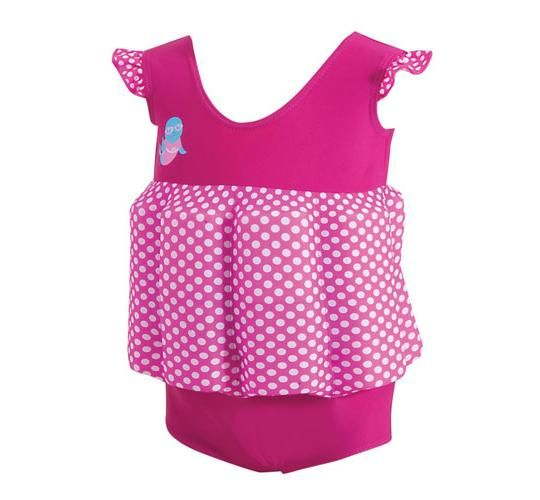 Zoggs Στολή κολύμβησης ροζ 1-2 ετών