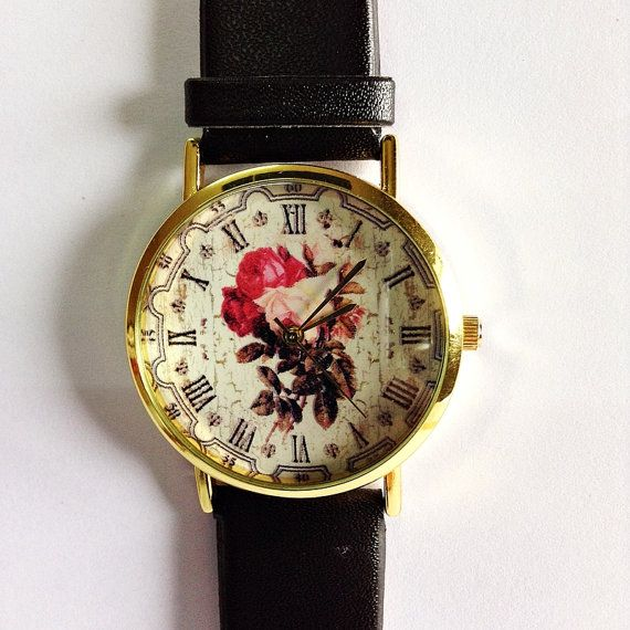Hey, I found this really awesome Etsy listing at https://www.etsy.com/listing/177872847/floral-watch-vintage-style-leather-watch @deedeediy omg gorg.