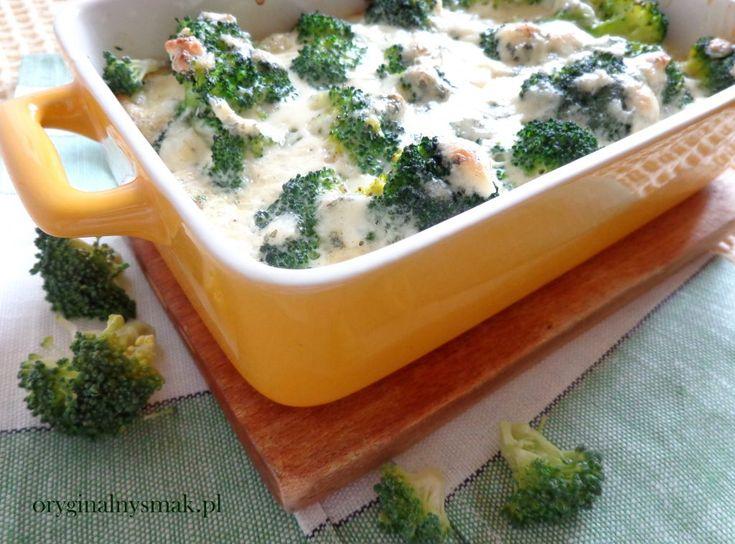 Brokuły zapiekane z serem pleśniowym | Oryginalny smak