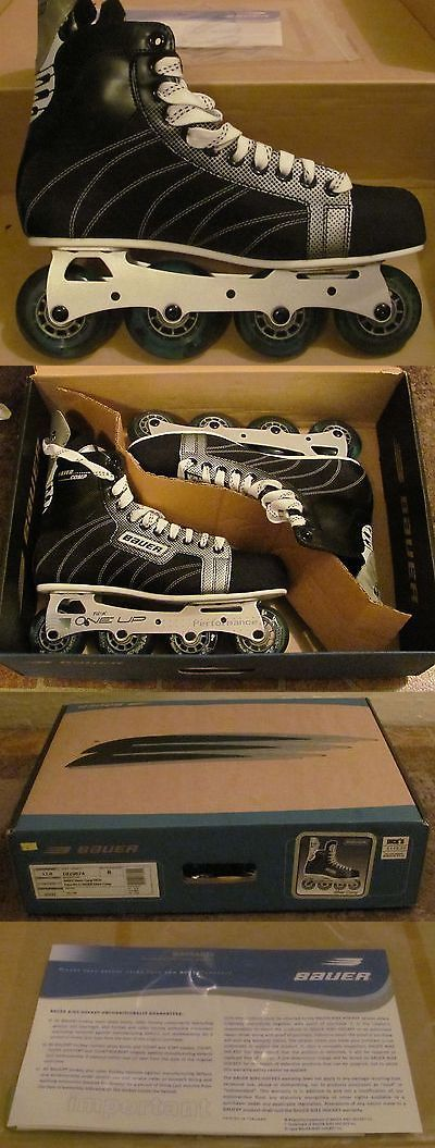 Roller Hockey 64669: Nike Bauer Supreme Select Inline Hockey Skates Size 12 New In Box -> BUY IT NOW ONLY: $199.99 on eBay!
