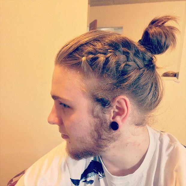 Trança em cabelo masculino (1)