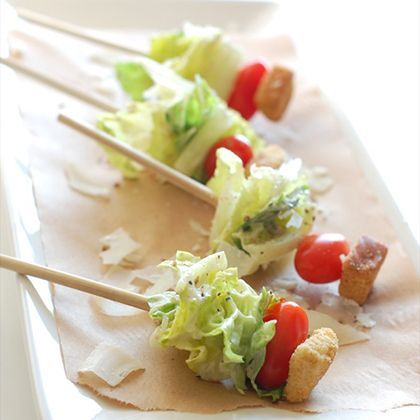 Ceasar Salad on a Stick
