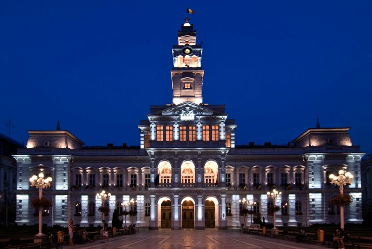The Stunning Administrative Palace of Arad