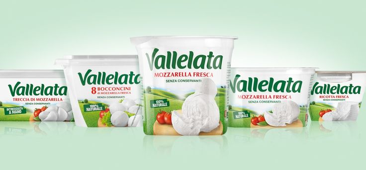 LACTALIS, VALLELATA RESTYLING. We told the promise of the naturalness of Vallelata with warmth and modernity, bringing the product to the center of a spring landscape.