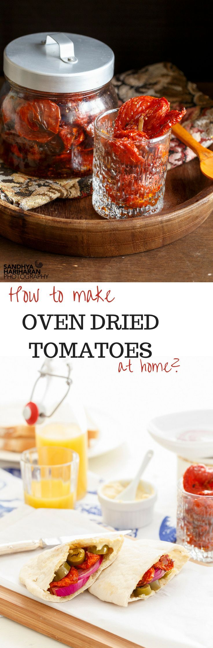 How to Make OVEN DRIED TOMATOES at home?