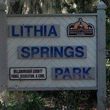 Lithia Springs Park Tampa Camping