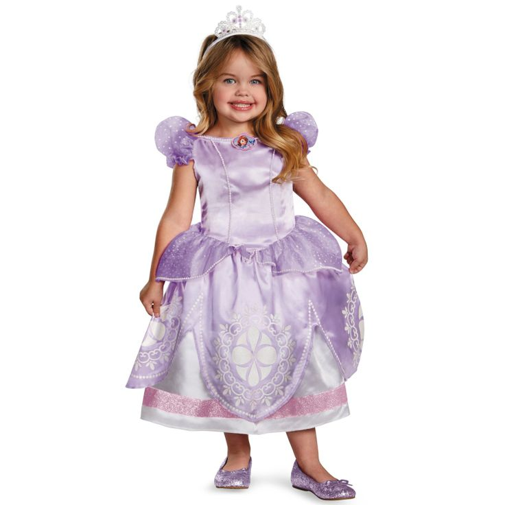 disney sofia the first deluxe toddler child costume - The First Halloween Costumes