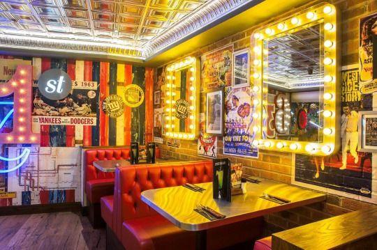 TGIフライデーズ五反田に新店鋪オープン映画館テナントを活かしハリウッド映画の雰囲気演出