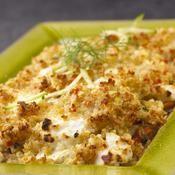 Gratin de quinoa aux petits légumes et chèvre frais - une recette Végétarien