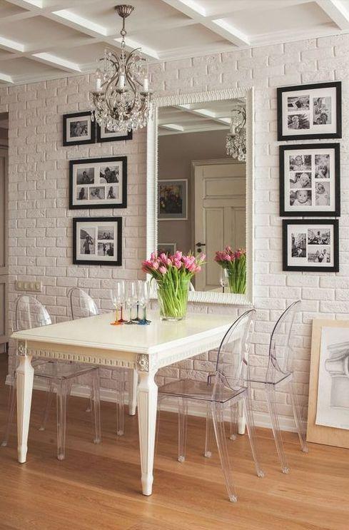 Oiii Gentem...: Decoração: Sala de Jantar Para Ambiente Pequeno