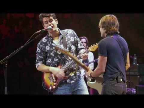 ▶ John Mayer with Keith Urban - Don't Let Me down - YouTube