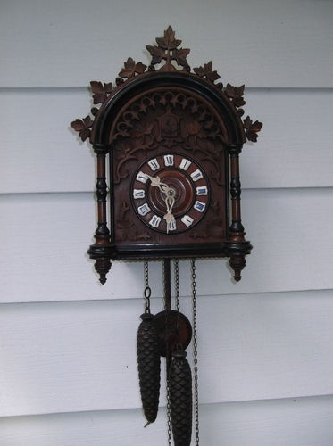 made in the late 1850's. The cuckoo clock has sent it's call 10,183,500 TIMES!