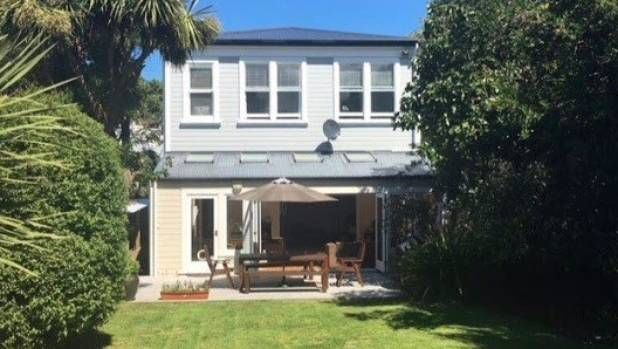Transforming their 1900s villa in central Wellington has been a labour of love for Grant and Karyn McKenna's family.