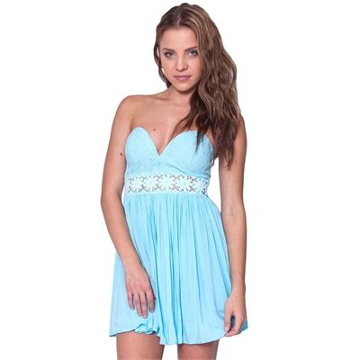 Light Blue Summer Dress From Showpo