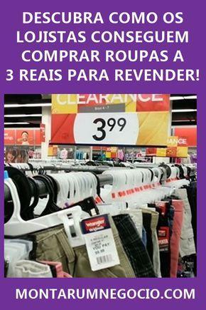 ab9c4251bc Descubra como os lojistas conseguem comprar roupas baratas a R  3 Reais  para revender! São peças muito baratas no atacado.