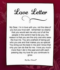 writing a letter expressing your feelings