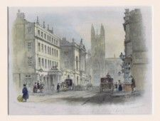 The Lion Hotel, Guildhall & Abbey Church (Bath)