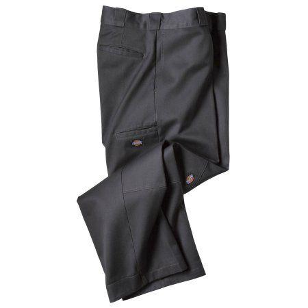 Dickie's Double Knee Work Pants, Black