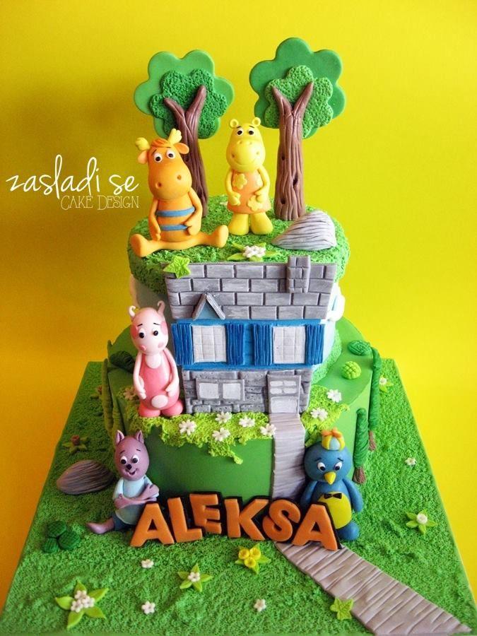 The Backyardigans cake
