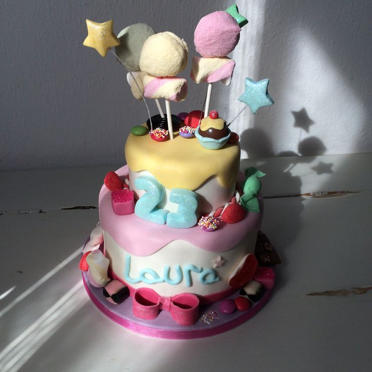 Candy cake #cake #haribo #caramelle #sugar #birthday #compleanno #dolci #cakedesign
