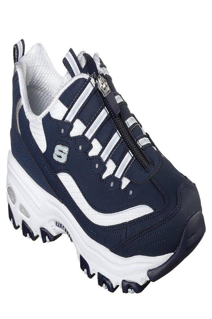 13080 Navy NVW D'lites Skechers shoes