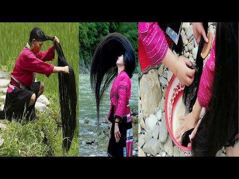 Aquí esta el secreto para crecer el cabello más largo del mundo y sin canas. - YouTube
