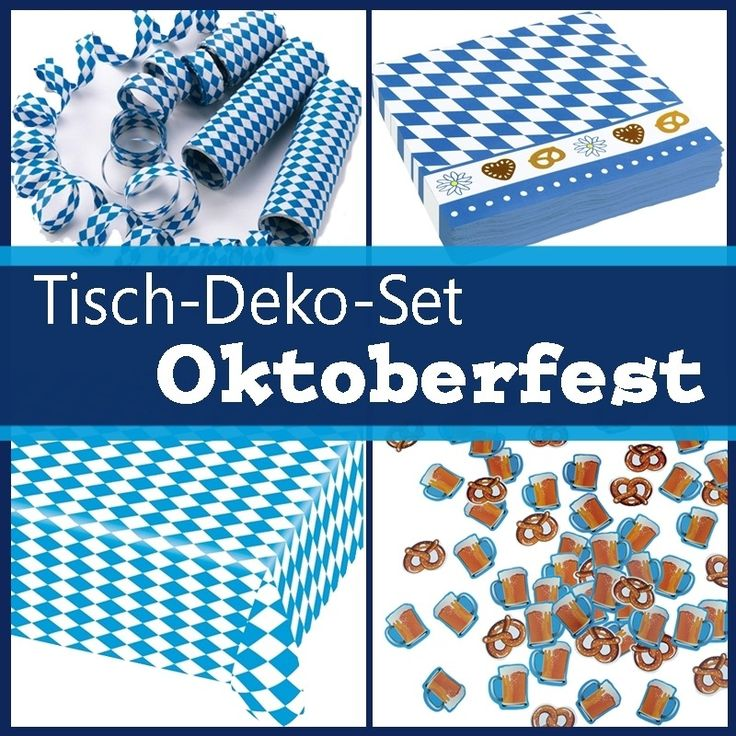 55 best oktoberfest • party ideen images on Pinterest | Oktoberfest ...