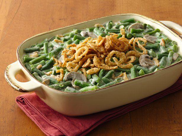 green bean casserole, progresso mushroom soup