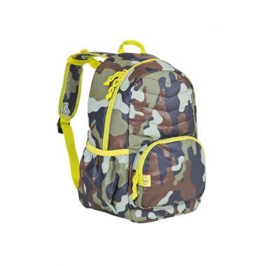 Plecak szkolny lekki pikowany Camo, Lässig
