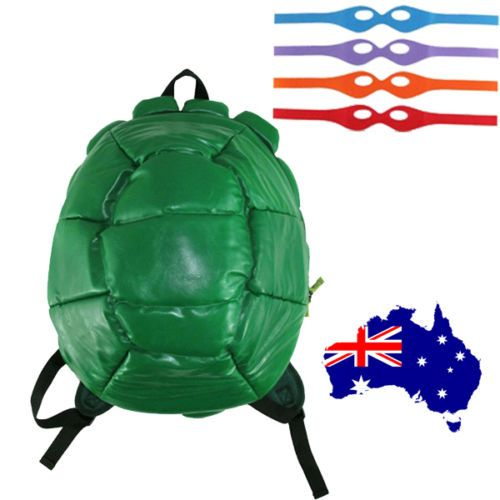 #Teenage mutant ninja turtles costume  green #shell backpack school bag #genuine,  View more on the LINK: http://www.zeppy.io/product/gb/2/252328434403/