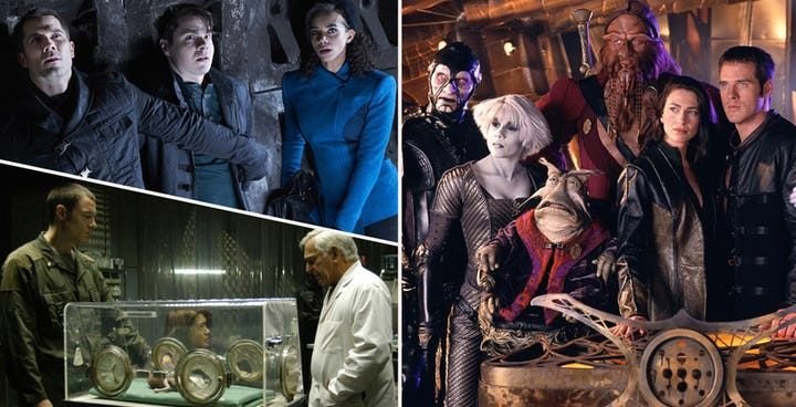 The 15 Worst Syfy Shows According To Rotten Tomatoes And The 15 Best Science Fiction Series Stargate Universe Science Fiction