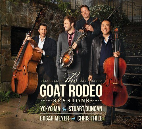 Here and Heaven by Yo-Yo Ma & Friends. Inspiring music that goes way beyond traditional bluegrass.