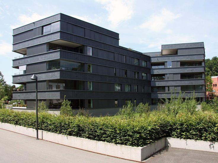 best architects architektur award // Egli Rohr Partner AG / Stadtvilla Römerpark Baden / best architects 13 / Wohnungsbau