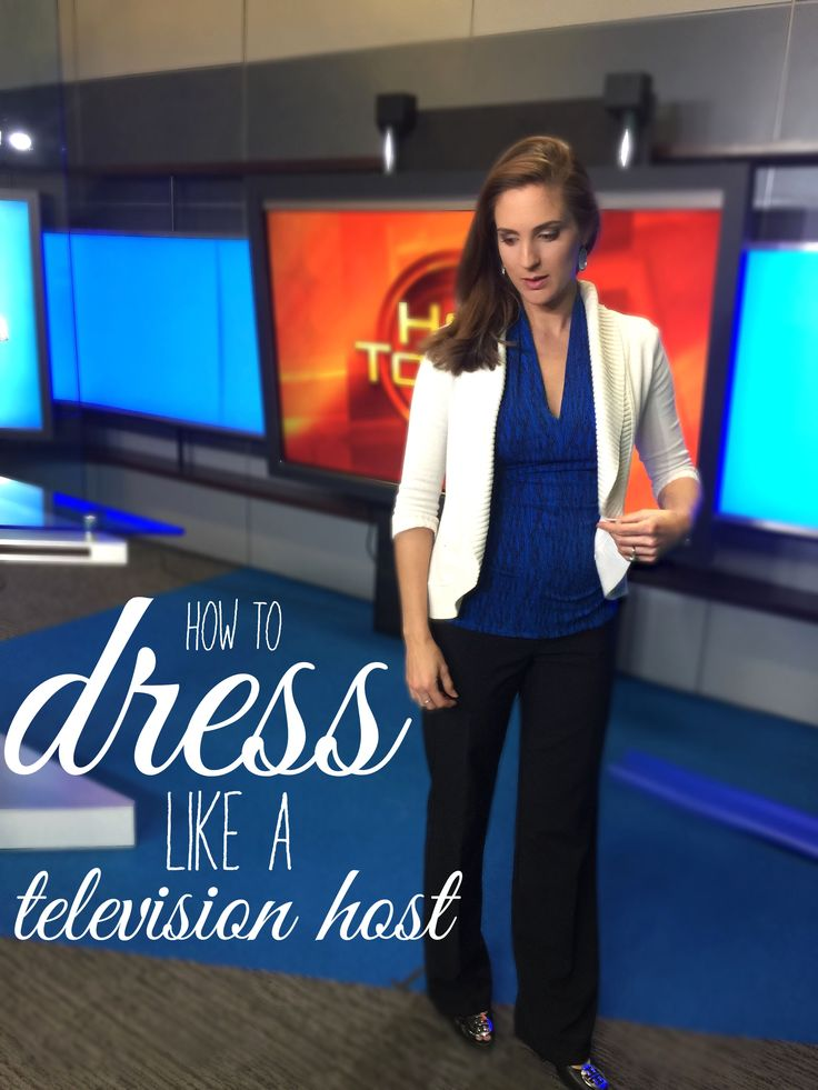 Looking like a polished TV host everyday is easy... even when you're expecting! Deets on Hot Topics host Heather Catlin's (@hcat) maternity style. #maternity #style #fashion #work #office