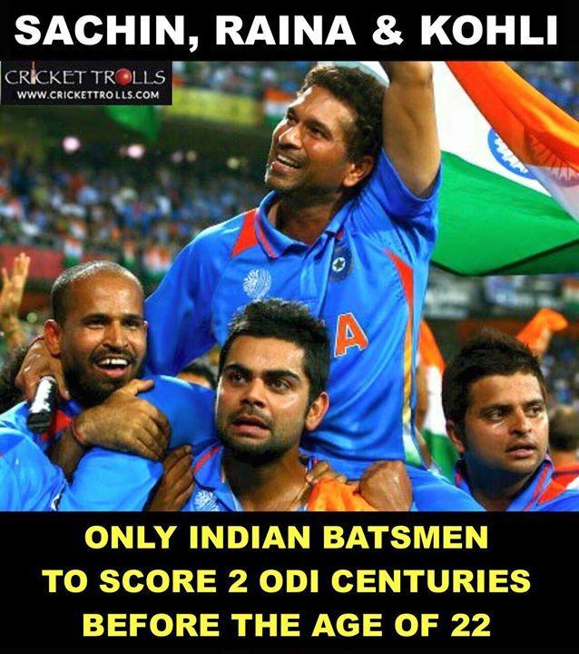 The 3 masters of Indian batting- Sachin Tendulkar  Suresh Raina and Virat Kohli  For more cricket fun click: http://ift.tt/2gY9BIZ - http://ift.tt/1ZZ3e4d