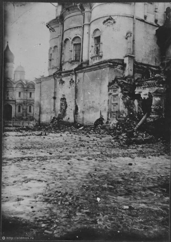 фотографии разрушений старой москвы каждый вечер праздник