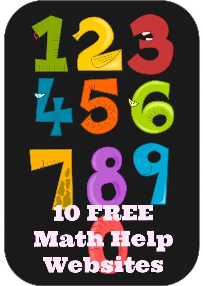 10 free math help websites plus one. Free, sophisticated, high-quality graphics, displays and/or organization a collection of excellent math resources