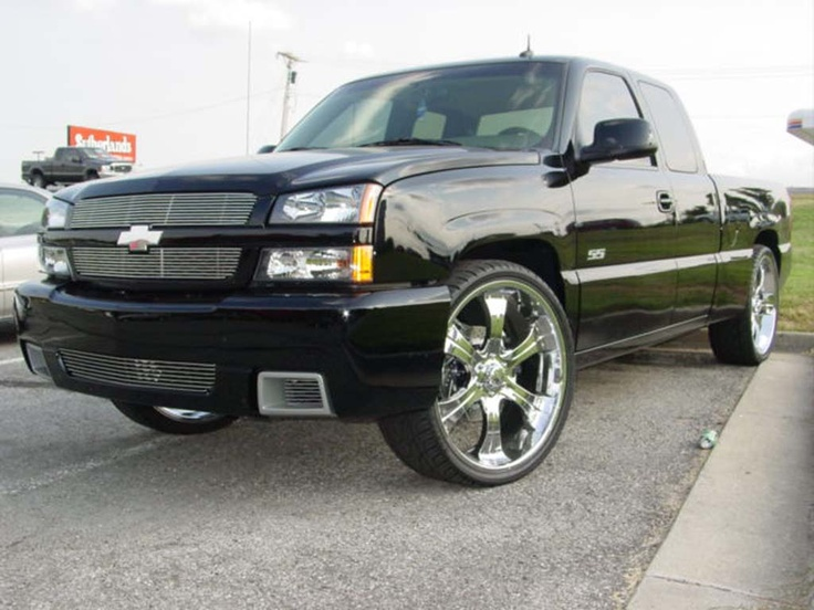 "Chevy Silverado SS with 22"" or 24"" wheels and tires"