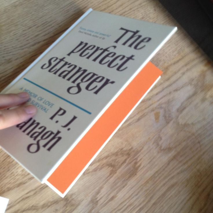 End papers working really well too (always a relief when seeing the finished product). #ThePerfectStranger