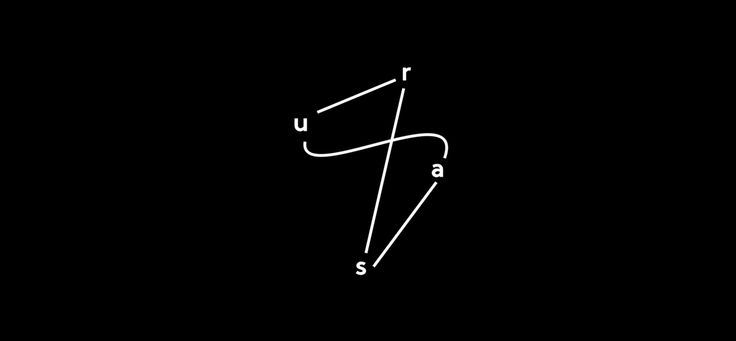 Identity system for URSA – Art & Architecture.