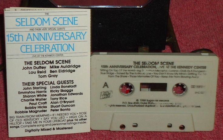 Seldom Scene - 15th Anniversary Celebration - Sugar Hill - 1988 - Audio Cassette