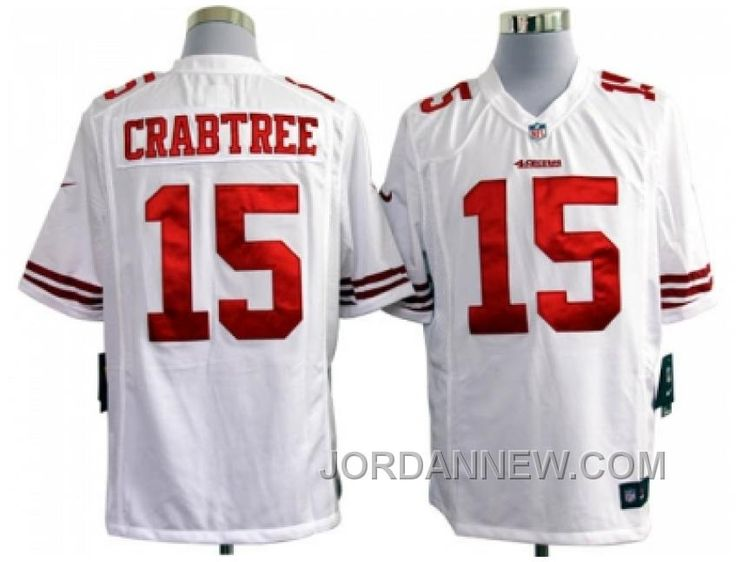 http://www.jordannew.com/nike-nfl-san-francisco-49ers-15-crabtree-white-game-jerseys-cheap-to-buy.html NIKE NFL SAN FRANCISCO 49ERS #15 CRABTREE WHITE GAME JERSEYS CHRISTMAS DEALS Only $23.00 , Free Shipping!
