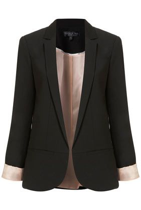 such a pretty black blazer...needs to be added to my large collection of black blazers ;)