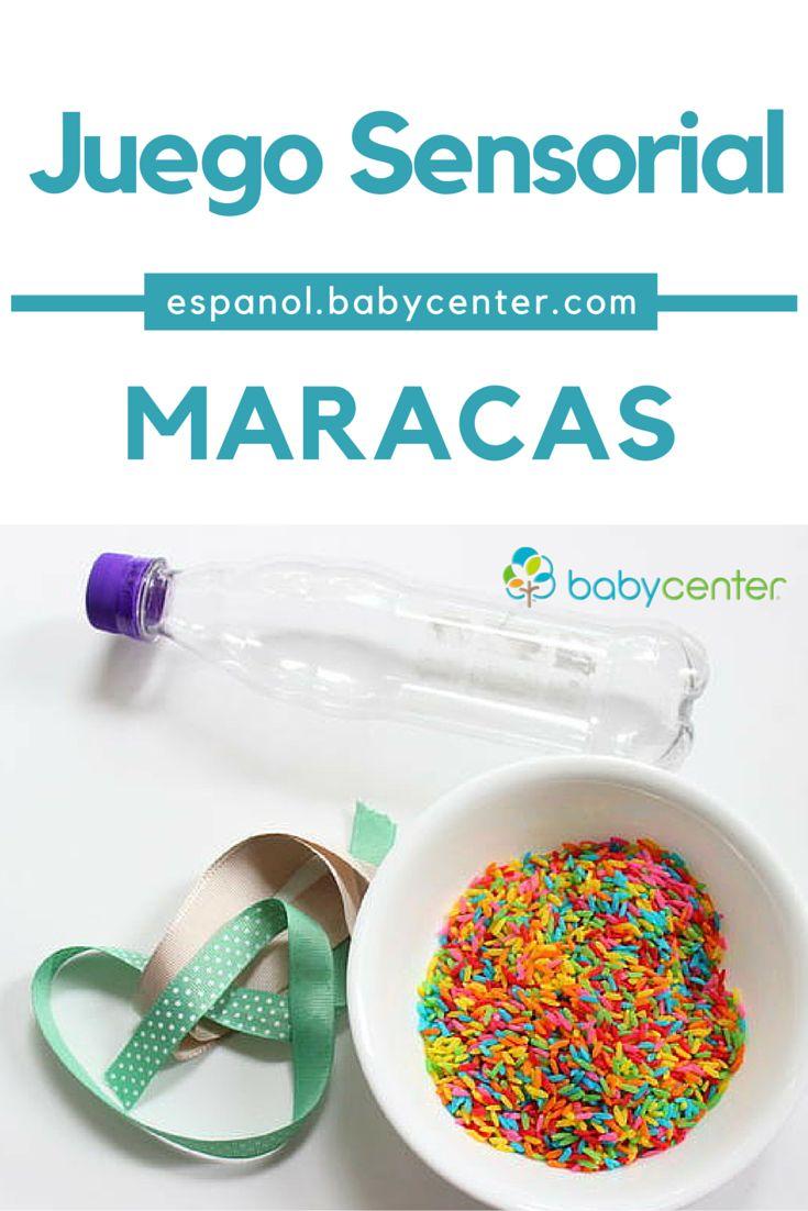 Actividades sensoriales para bebés: Maracas